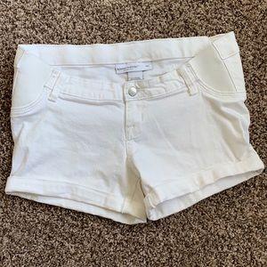 Liz Lange Maternity White Shorts